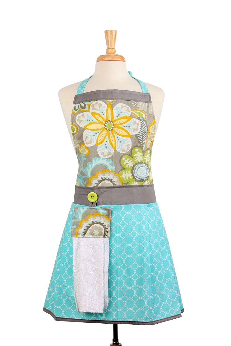 """Cooking Apron """"Elayne"""" - American made - The Bedford Life"""
