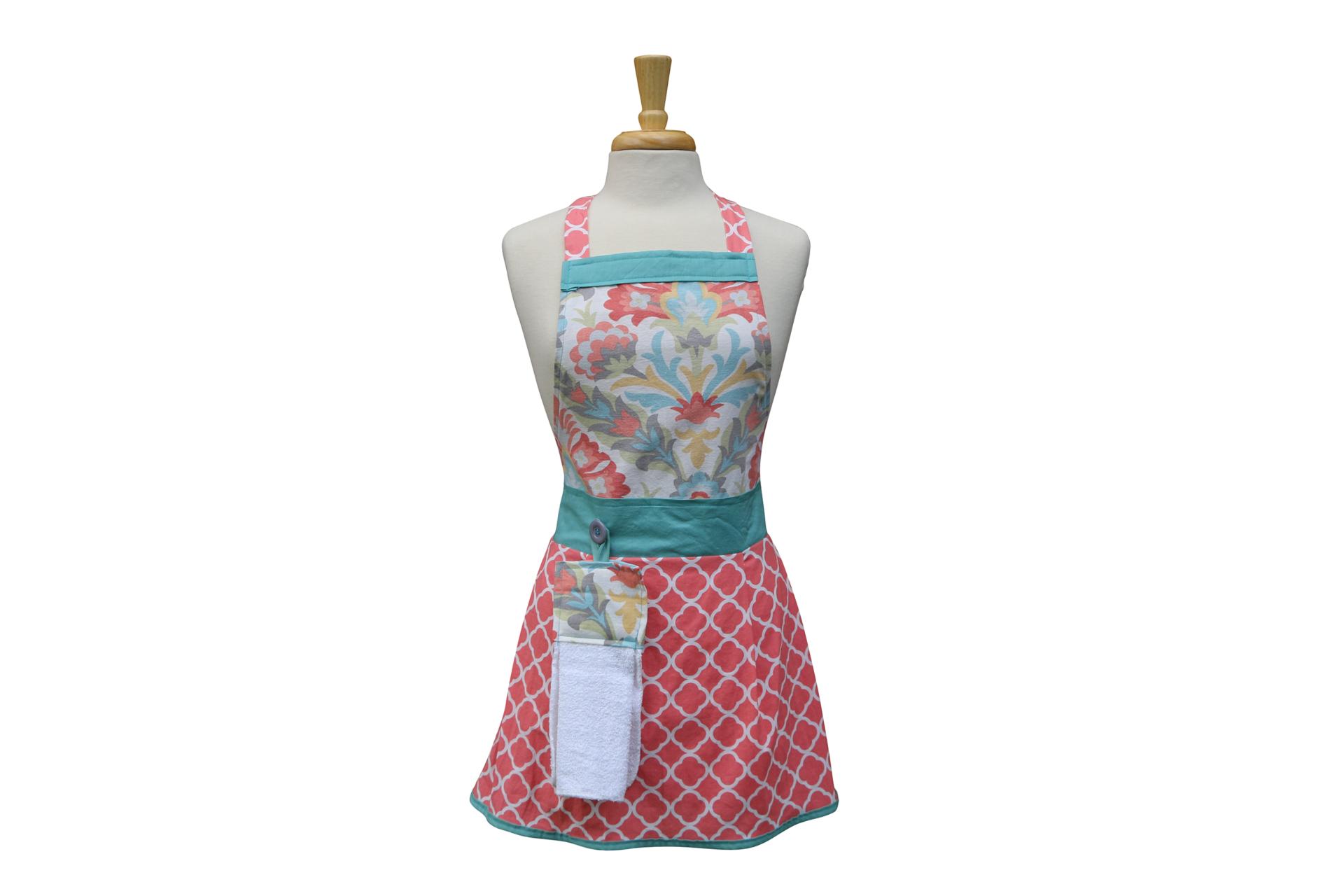 kitchen apron tehya modern aprons for women - Kitchen Apron