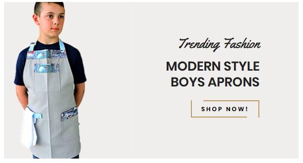 boys aprons