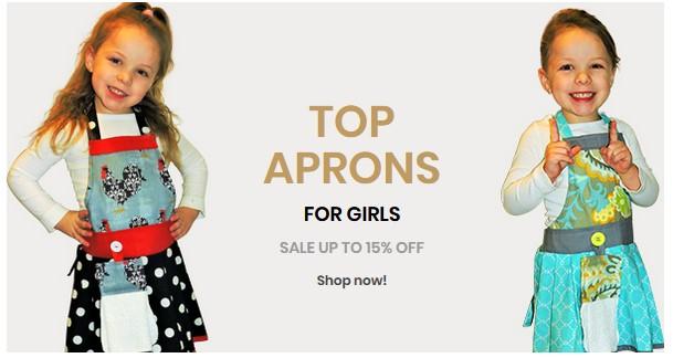 girls aprons